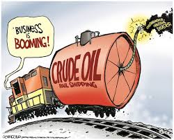 crude oil booming