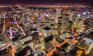 glittering Toronto