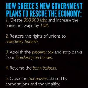 Greece new govt plans