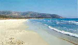 Greek beach Naxos