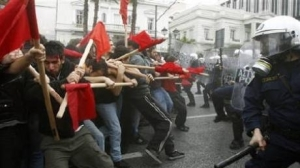 greek protests 2011