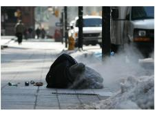 homeless in toronto winter