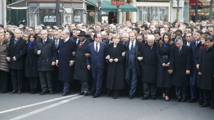paris leaders march PR