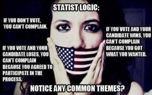 Statist-voting-logic