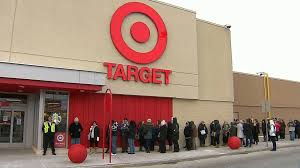 Target Canada launch