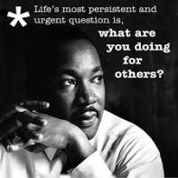 what are you doing for others