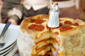 gay wedding pizza