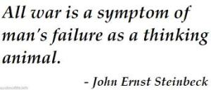 war is failure