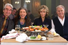 Grace and Frankie w costars