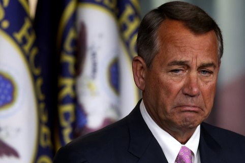 Image result for crying john boehner gif