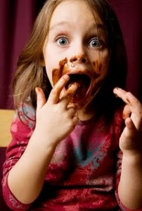 greedy child