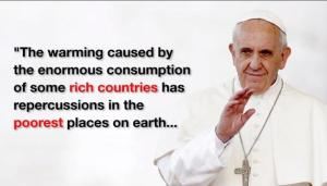 pope richest effect poorest