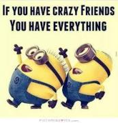 crazy minion friends