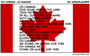 oh canada song