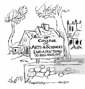 College of Arts and Sciences (and a few things to fall back on).