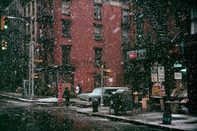 First_Snow Jay Maisel