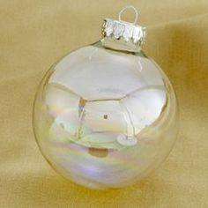 soap bubble ornament