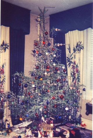 xmas tree old timey