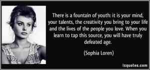 aging sophia loren