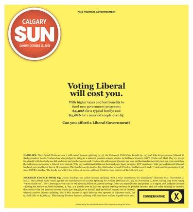 Sun 2015 Harper support