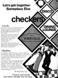 Yorkville disco 70s