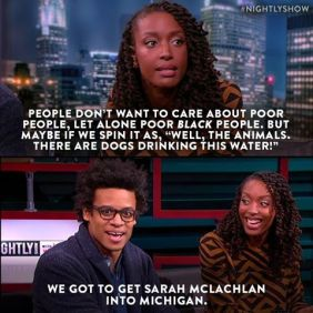 people care about pets over poor blacks
