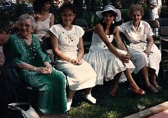4 gens at wedding