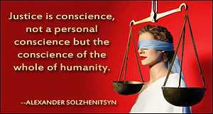 justice is conscience