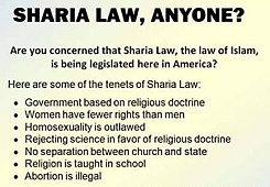 sharia law anyone