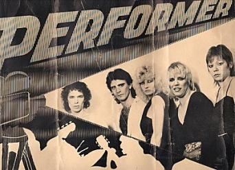 Performer original poster 001