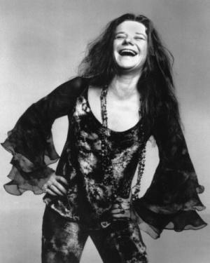 This is an Oct. 1970 photo of rock singer Janis Joplin.  (AP Photo)