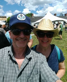 Bill and Vicki Wood PowWow June 2017