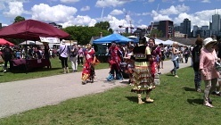 dancers pow wow June 2017