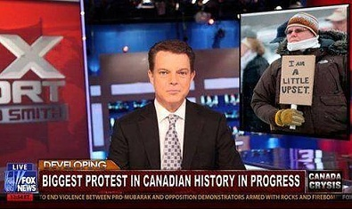 biggest protest in canada