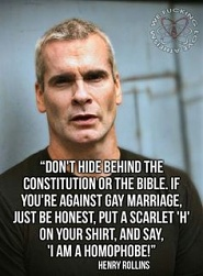 henry rollins gay marriage