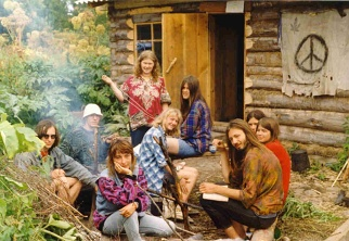 hippies 60s commune