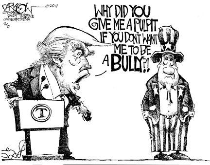 bully pulpit trump