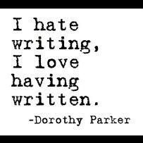 i hate writing