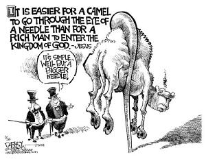 rich need bigger needle