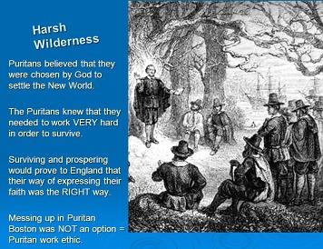 puritan work ethic