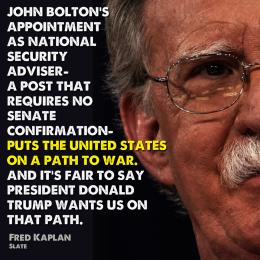 john bolton war cabinet