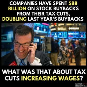 tax cut bybacks