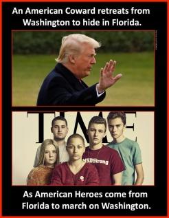trump vs teen gun heroes