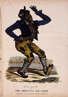 jim crow character this is america