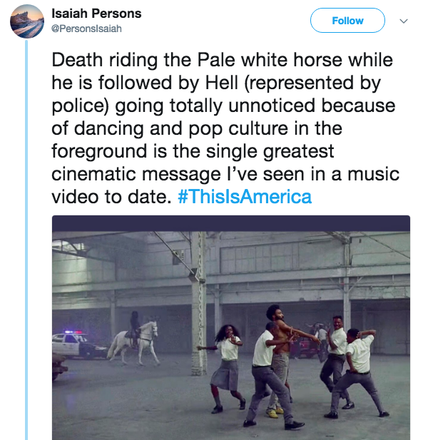 this is america comment