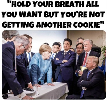 trump g7 hold your breath no more cookies June 2018