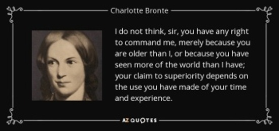Bronte on aging