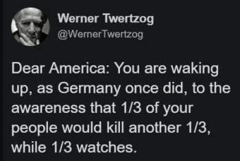 one third of America