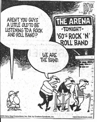 too old but we're the band