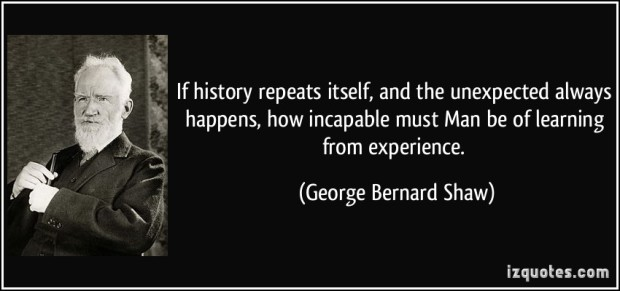 gbs quote on history reepeating